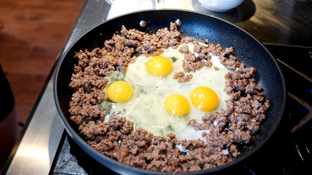 Ground Beef And Eggs Breakfast Clouds Perfect Instantpot Rice Recipe Recipecreek